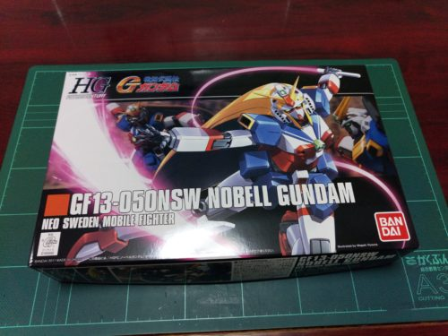 HGFC 1/144 GF13-050NSW ノーベルガンダム [Nobell Gundam]
