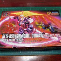 HGFC 1/144 GF13-050NSW ノーベルガンダム(バーサーカーモード) [Nobell Gundam Berserker Mode]