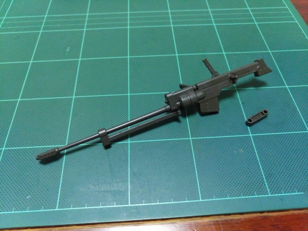 HG 1/144 鉄血のオルフェンズ月鋼MSオプションセット(対物ライフル・ハイパーバンカーシールドセット) 正面