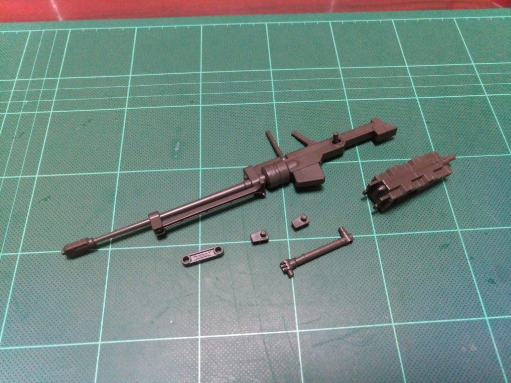 HG 1/144 鉄血のオルフェンズ月鋼MSオプションセット(対物ライフル・ハイパーバンカーシールドセット) セット内容