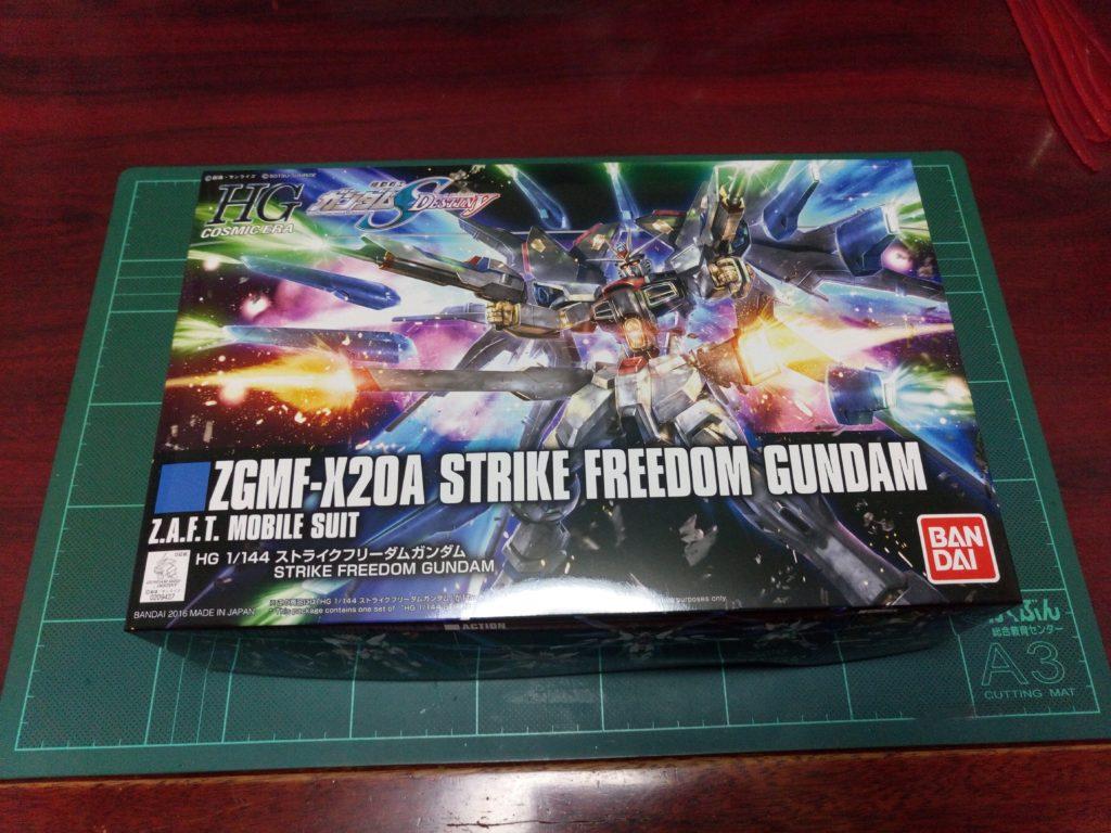 HGCE 1/144 REVIVE ZGMF-X20A ストライクフリーダムガンダム [Strike Freedom Gundam] パッケージ