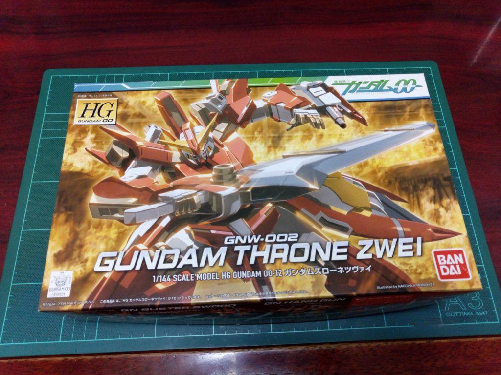 HG 1/144 GNW-002 ガンダムスローネツヴァイ [Gundam Throne Zwei] パッケージ