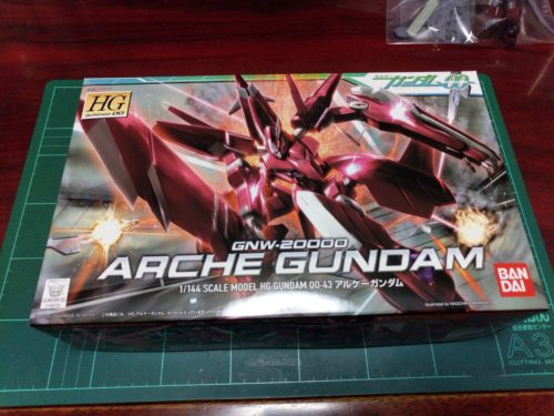 HG 1/144 GNW-20000 アルケーガンダム [Arche Gundam]