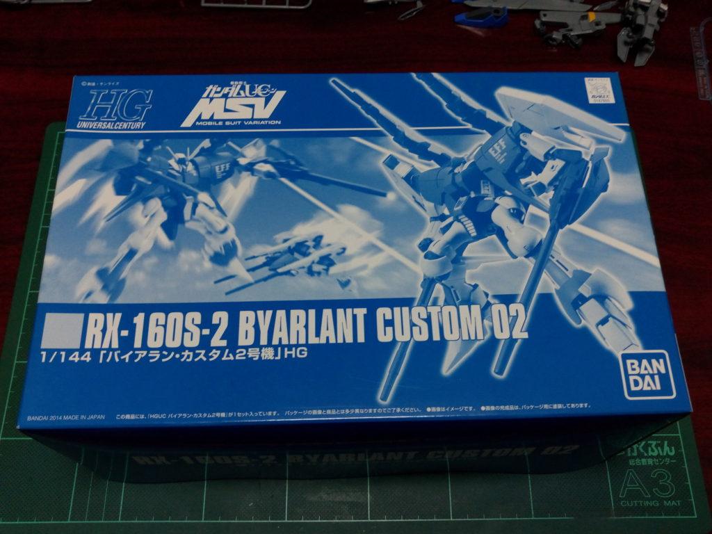 HGUC 1/144 1/144 RX-160S-2 バイアラン・カスタム2号機 パッケージ