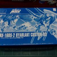 HGUC 1/144 1/144 RX-160S-2 バイアラン・カスタム2号機 [Byarlant Custom 02]