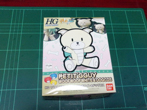 HGPG 1/144 プチッガイ ワンワンホワイト&ドッグコス [Petit'gguy WoofWoof White & Dog Cos]