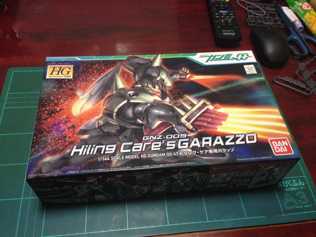 HG 1/144 GNZ-005 ヒリング・ケア専用ガラッゾ パッケージ