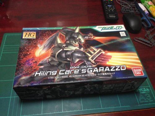 HG 1/144 GNZ-005 ヒリング・ケア専用ガラッゾ [Hiling Care`s Garazzo]