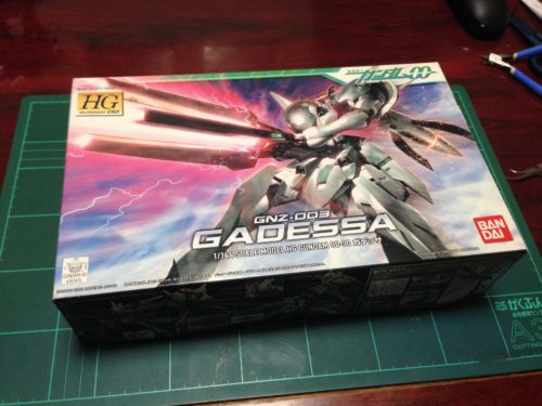 HG 1/144 GNZ-003 ガデッサ