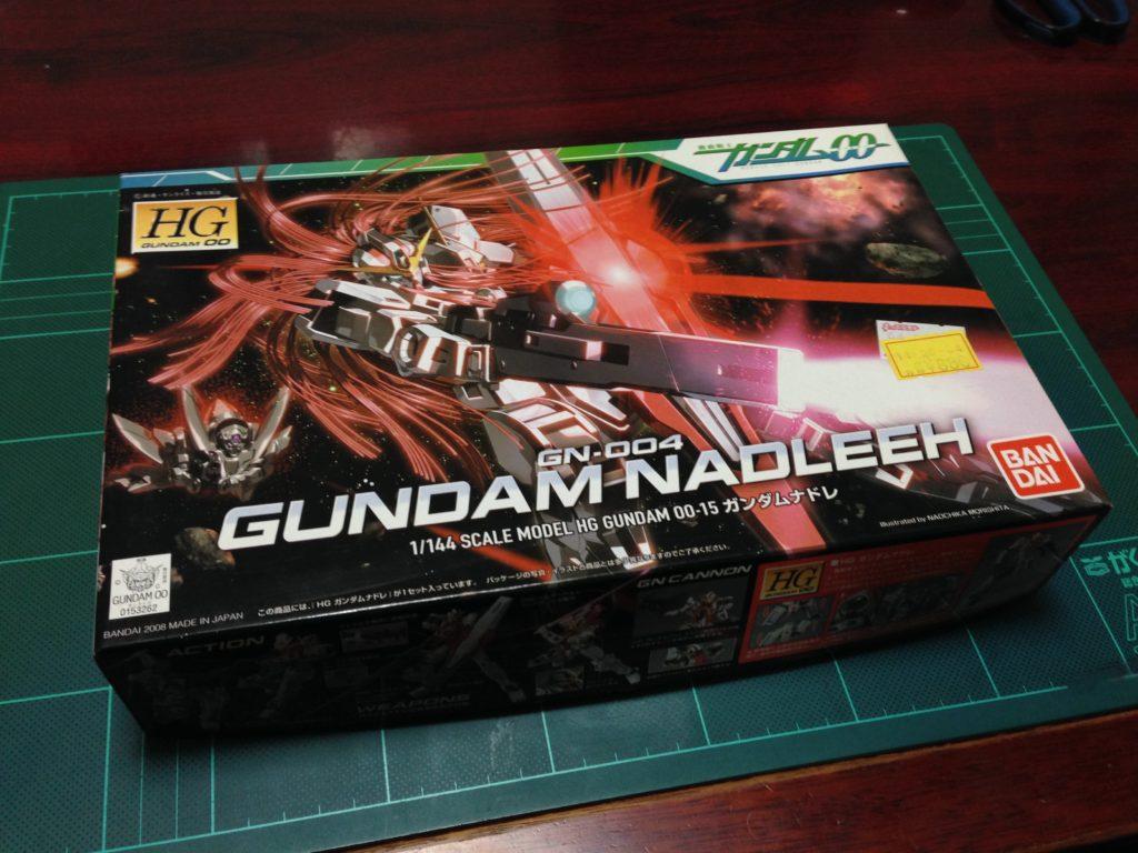 HG 015 1/144 GN-004 ガンダムナドレ パッケージ