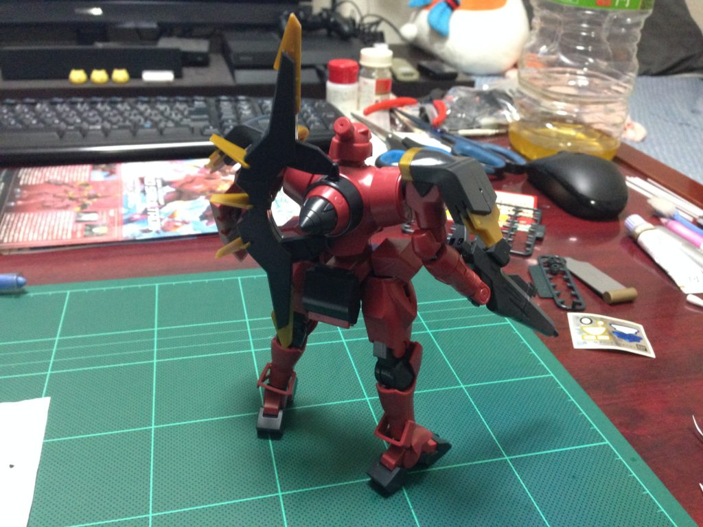 HG 1/144 GNX-704T/SP アヘッド スマルトロン [Ahead Smultron] 背面
