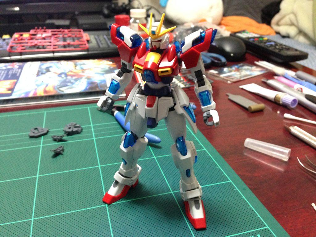 HGBF 1/144 TBG-011B トライバーニングガンダム [Try Burning Gundam] 正面