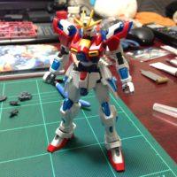 HGBF 1/144 TBG-011B トライバーニングガンダム [Try Burning Gundam]