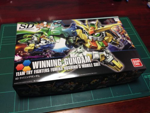 SDBF SD-237 ウイニングガンダム [Winning Gundam] 0194367 5055436