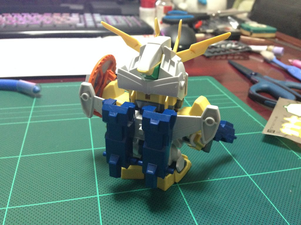 SDBF SD-237 ウイニングガンダム [Winning Gundam] 背面