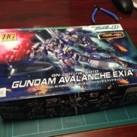 HG 1/144 GN-001/hs-A01D ガンダム アヴァランチエクシアダッシュ [Gundam Avalanche Exia`] 0163278 5059024 4573102590244 4543112632784