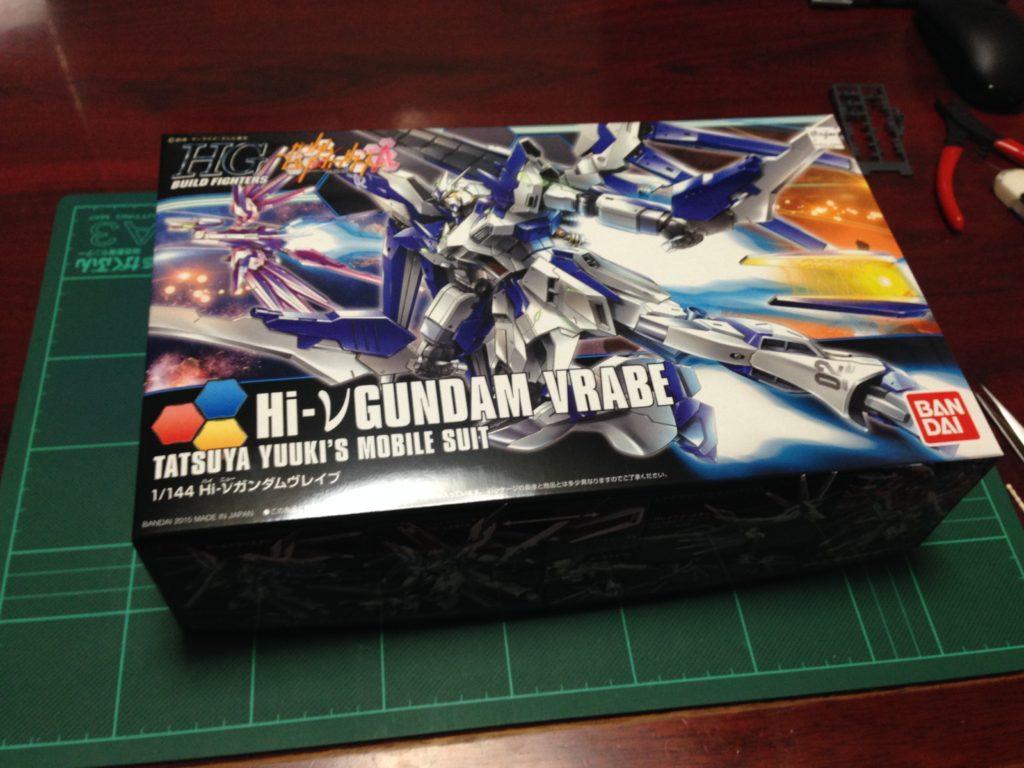 HGBF 1/144 RX-93-ν2V Hi-νガンダムヴレイブ [Hi-ν Gundam Vrabe] パッケージ