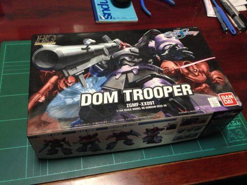 HG 1/144 ZGMF-XX09T ドムトルーパー [DOM Trooper]