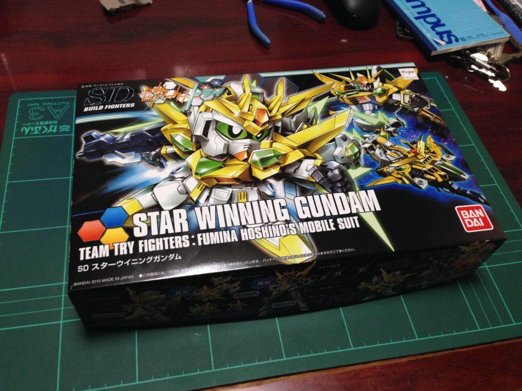 SDBF SD-237S スターウイニングガンダム [Star Winning Gundam] パッケージ