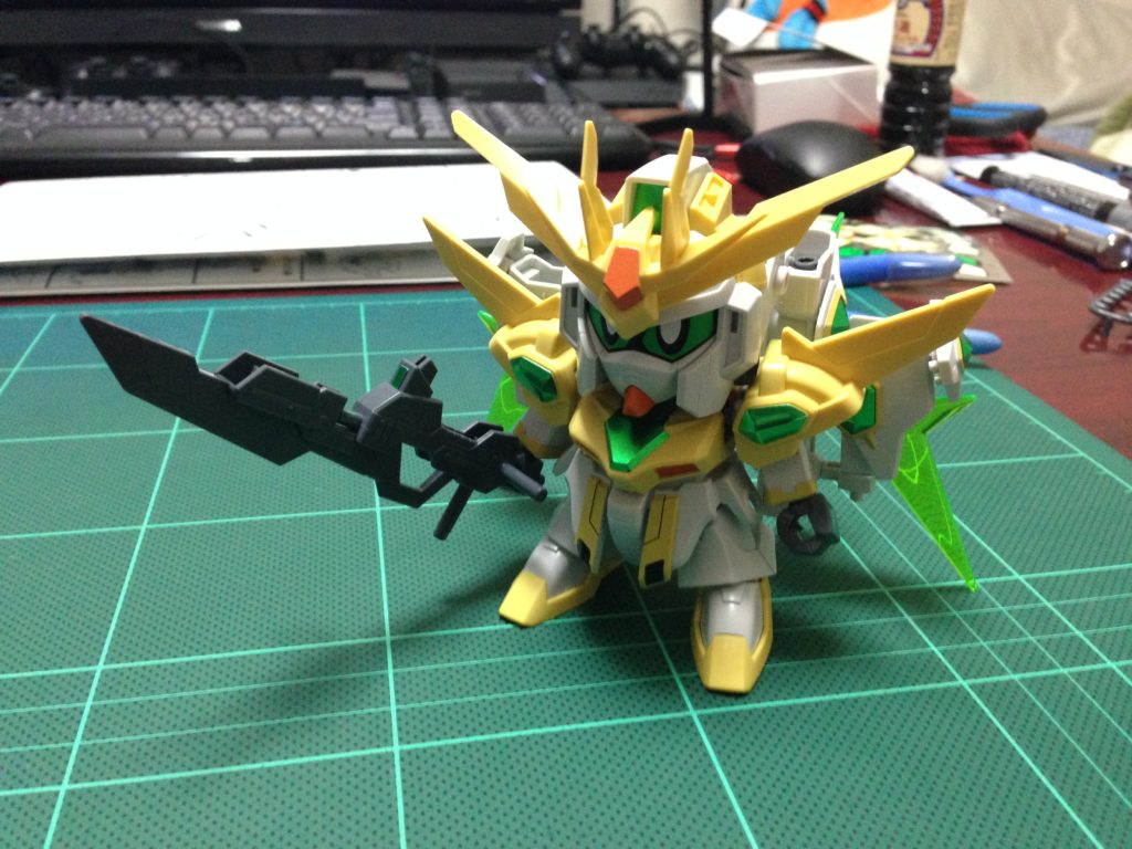 SDBF SD-237S スターウイニングガンダム [Star Winning Gundam] 正面