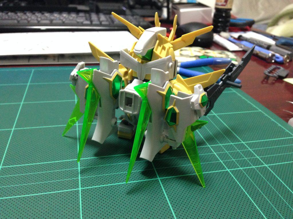 SDBF SD-237S スターウイニングガンダム [Star Winning Gundam] 背面