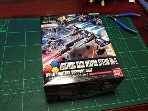 HGBC 1/144 ライトニングバックウェポンシステムMk-II [Lightning Back Weapon System Mk-II]