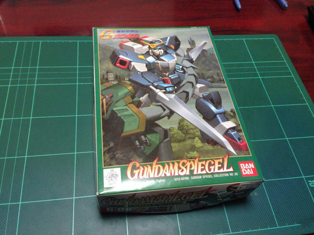 1/144 GF13-021NG ガンダムシュピーゲル [Gundam Spiegel] パッケージ