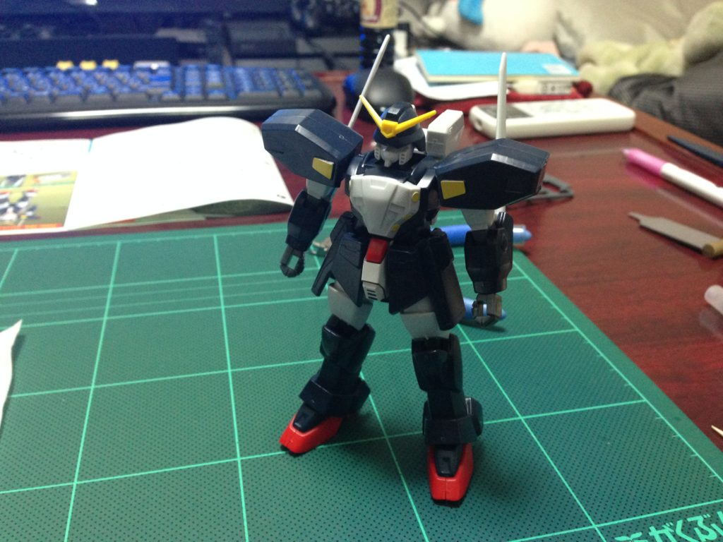 1/144 GF13-021NG ガンダムシュピーゲル [Gundam Spiegel] 正面