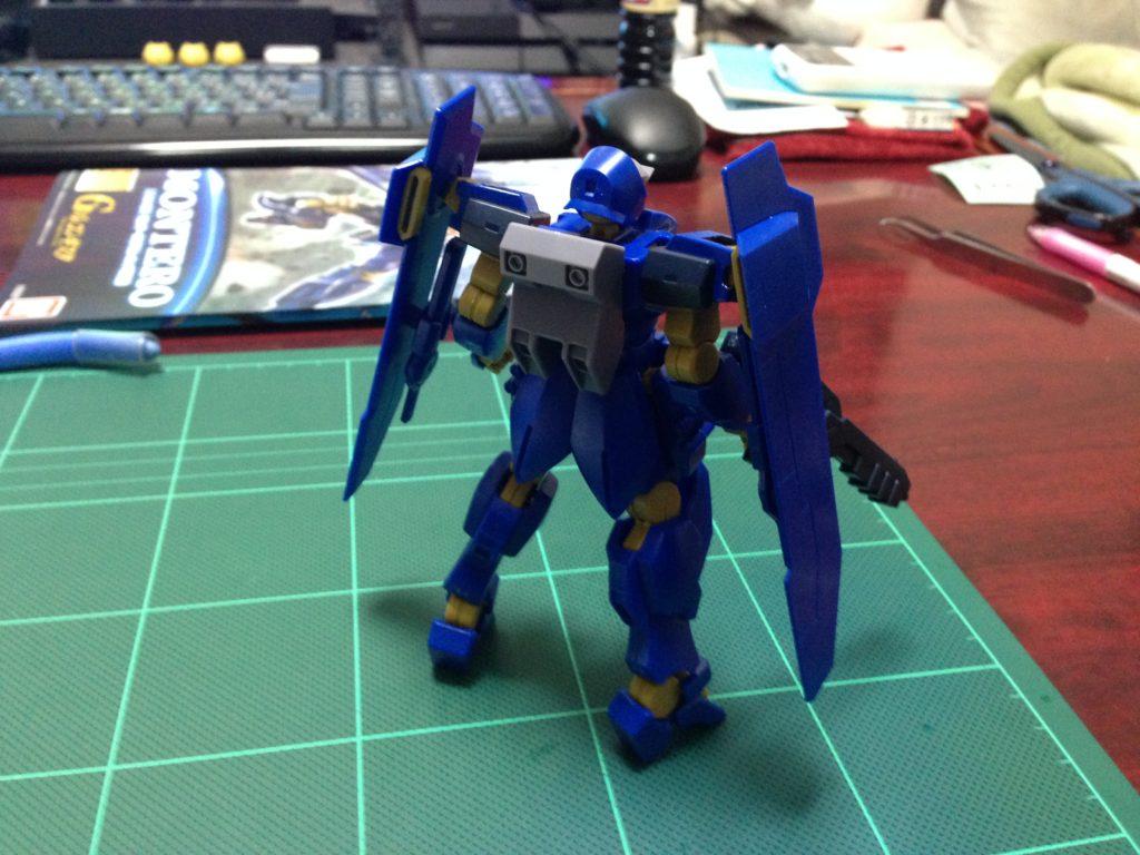 HGBF 1/144 MSAM-YM03 モンテーロ(クリム・ニック専用機) [Montero] 背面