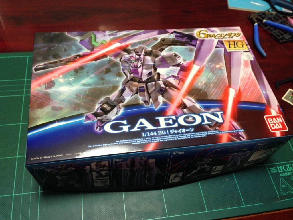 HG 1/144 VGMM-Gb03 ジャイオーン [Gaeon] パッケージ