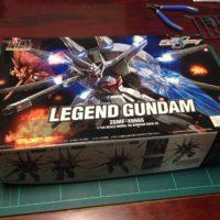 HG 1/144 ZGMF-X666 レジェンドガンダム [Legend Gundam]