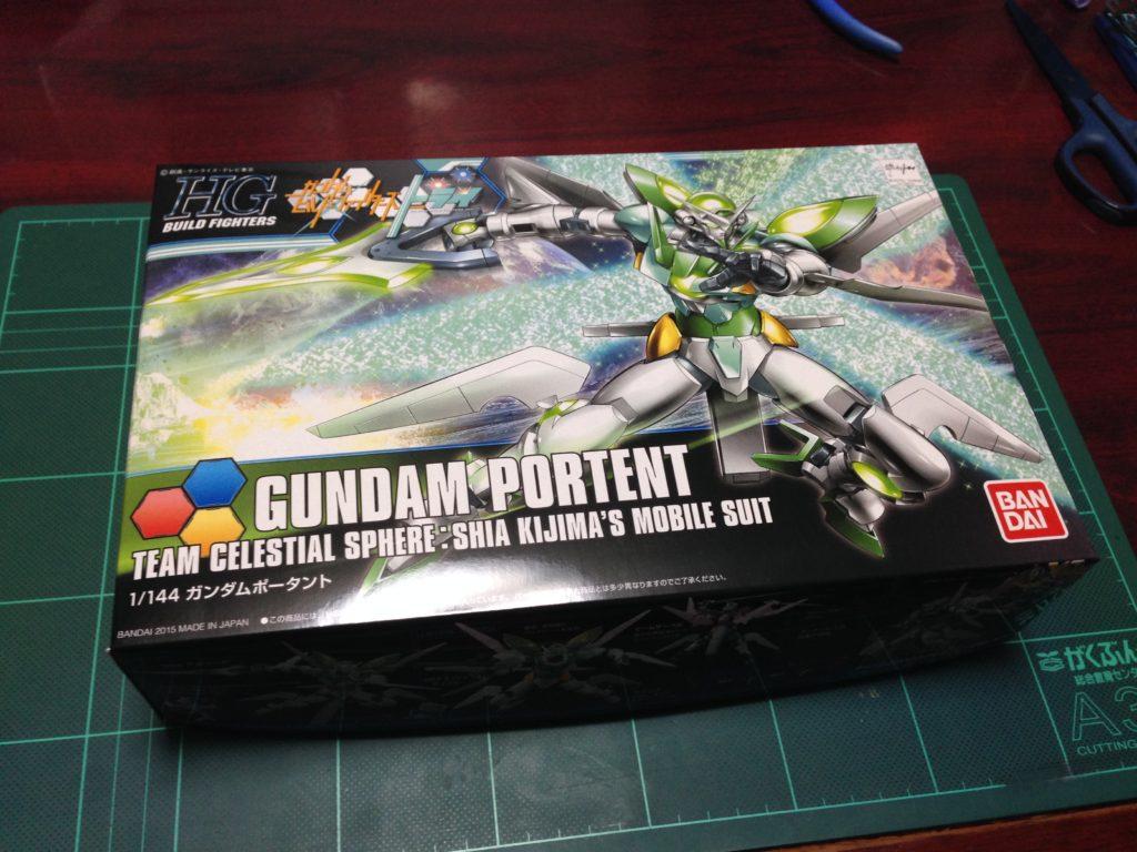HGBF 1/144 GNW-100P ガンダムポータント [Gundam Portent] パッケージ