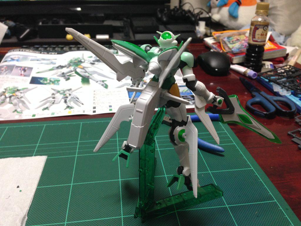 HGBF 1/144 GNW-100P ガンダムポータント [Gundam Portent] 背面