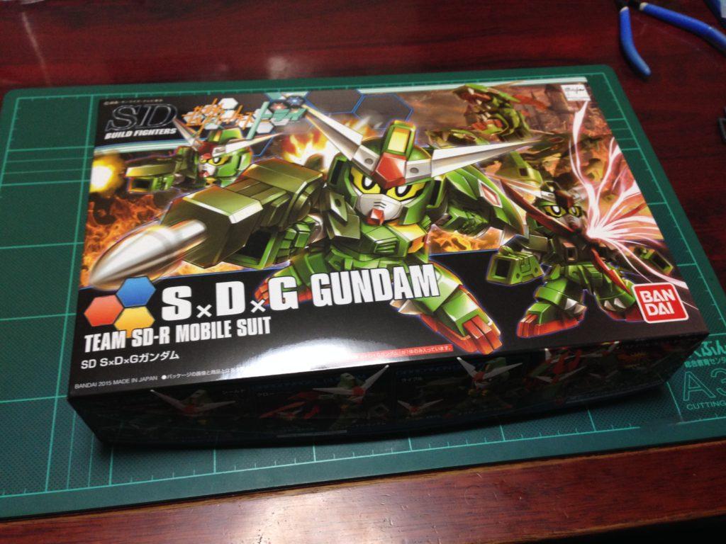SDBF S×D×G ガンダム [S×D×G Gundam] パッケージ