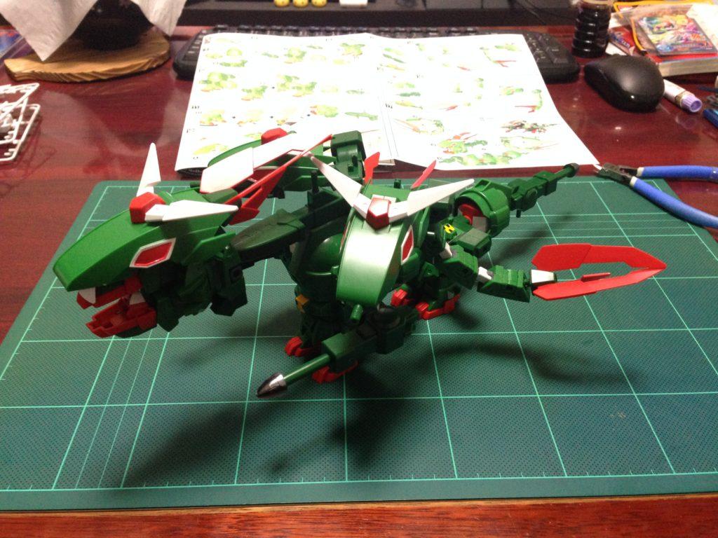 SDBF S×D×G ガンダム [S×D×G Gundam] 背面