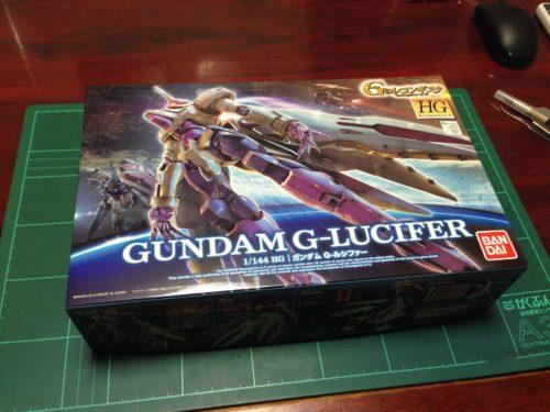 HG 1/144 VGMM-Gf10 ガンダム G-ルシファー [Gundam G-Lucifer]