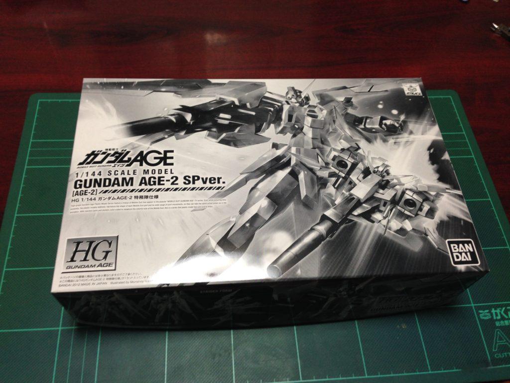 HG 1/144 ガンダムAGE-2 特務隊仕様 パッケージ
