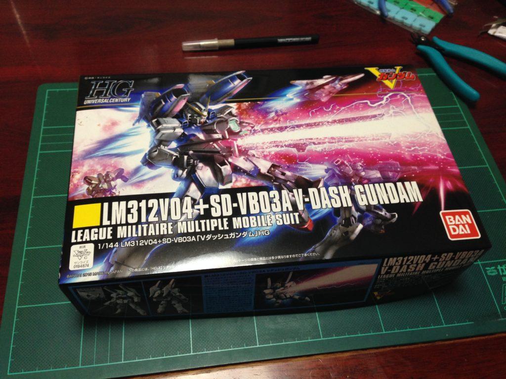 HGUC 1/144 LM312V04+SD-VB03A Vダッシュガンダム [V-Dash Gundam] パッケージ