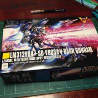 HGUC 1/144 LM312V04+SD-VB03A Vダッシュガンダム [V-Dash Gundam]