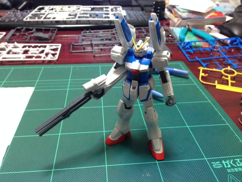 HGUC 1/144 LM312V04+SD-VB03A Vダッシュガンダム [V-Dash Gundam] 正面