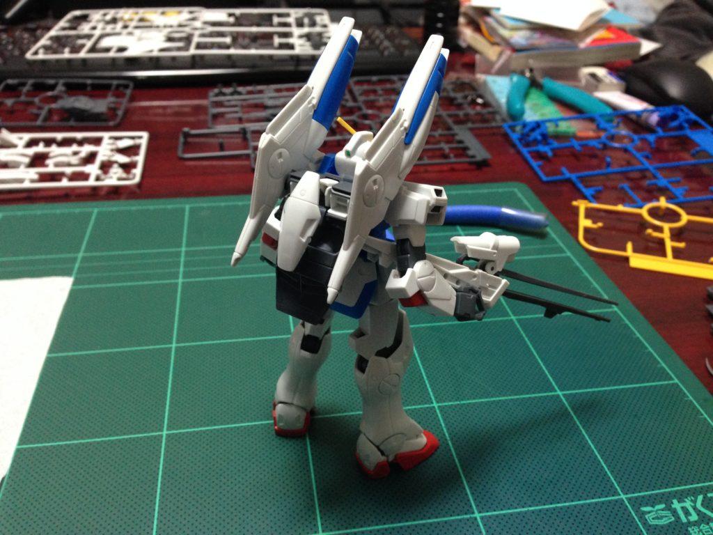 HGUC 1/144 LM312V04+SD-VB03A Vダッシュガンダム [V-Dash Gundam] 背面