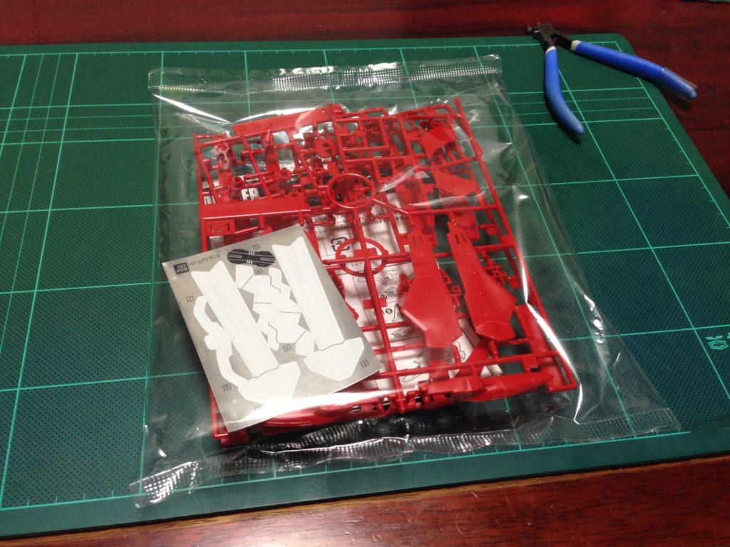 HGBC 1/144 ビルドブースター レッドVer. パッケージ