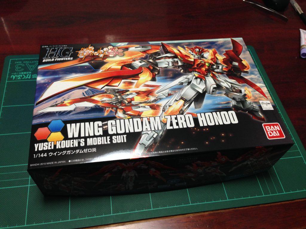 HGBF 1/144 XXXG-00W0CV ウイングガンダムゼロ炎 [Wing Gundam Zero Honoo] パッケージ