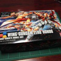 HGBF 1/144 XXXG-00W0CV ウイングガンダムゼロ炎 [Wing Gundam Zero Honoo]