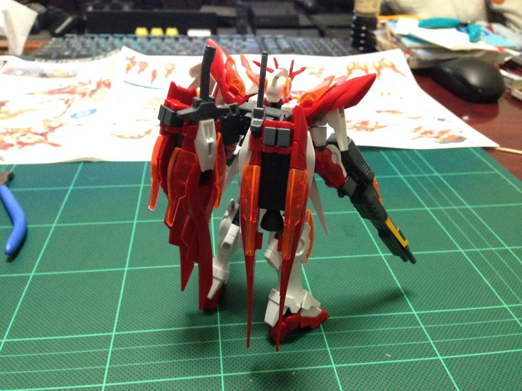 HGBF 1/144 XXXG-00W0CV ウイングガンダムゼロ炎 [Wing Gundam Zero Honoo] 背面