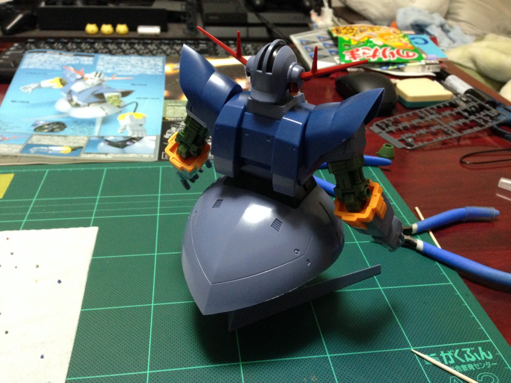HGUC 1/144 MSN-02 ジオング [Zeong] 背面