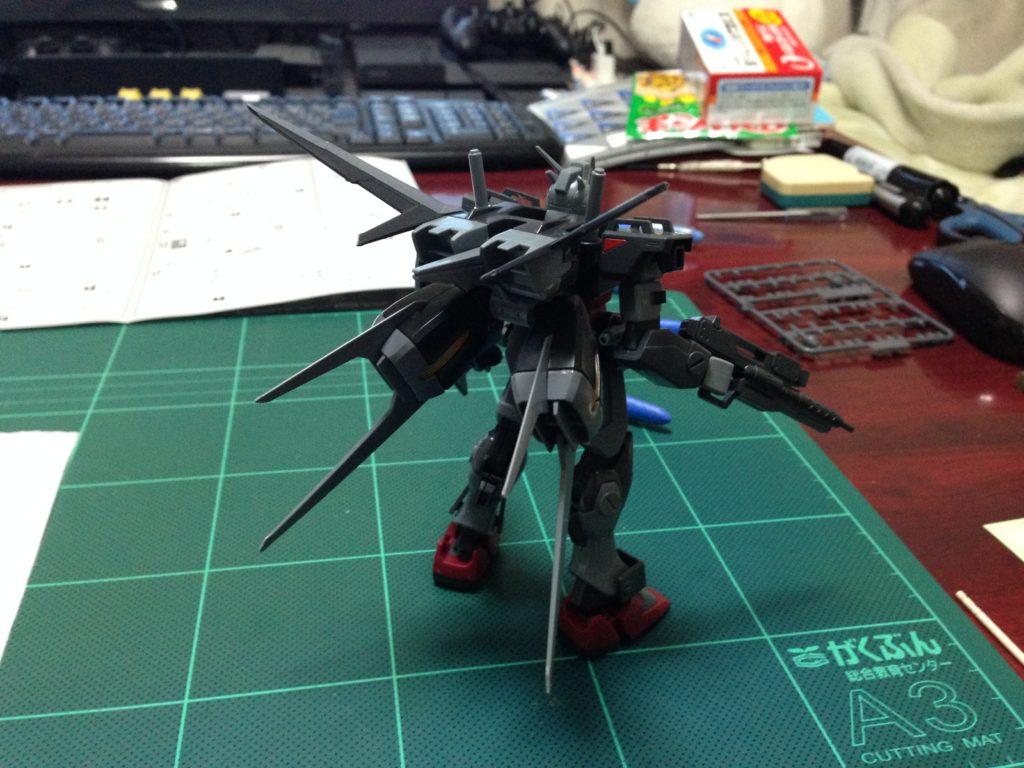 HG 1/144 GAT-01A1 105スローターダガー [Slaughter Dagger] 背面