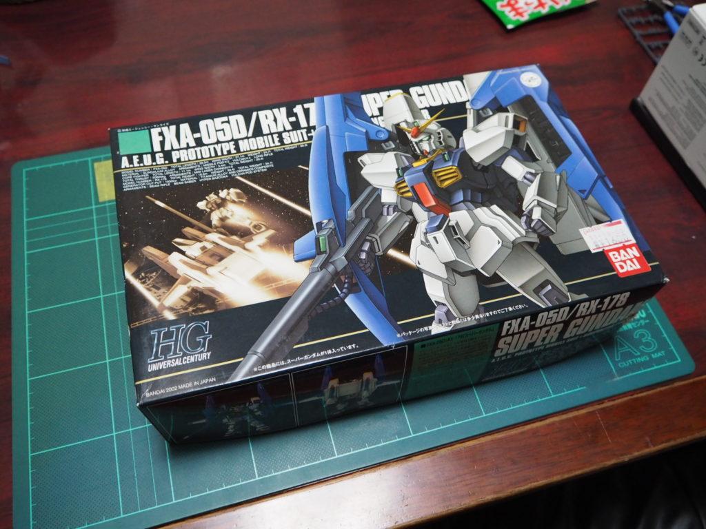 HGUC 1/144 FXA-05D+RX-178 スーパーガンダム パッケージ