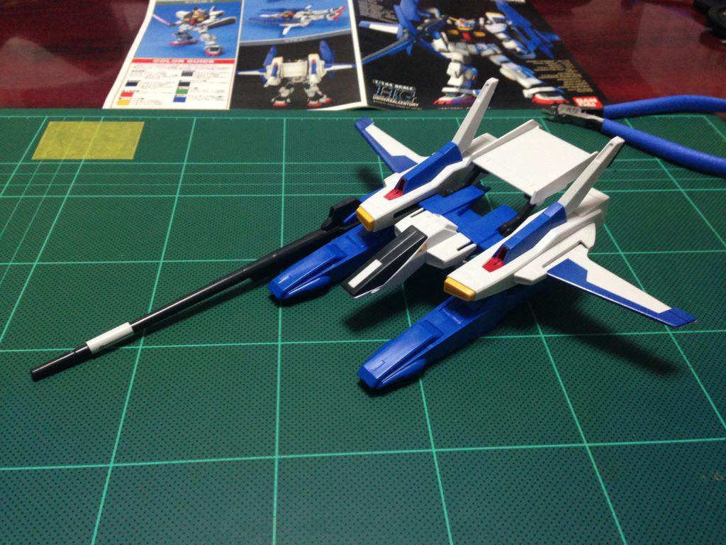 HGUC 1/144 FXA-05D+RX-178 スーパーガンダム 正面