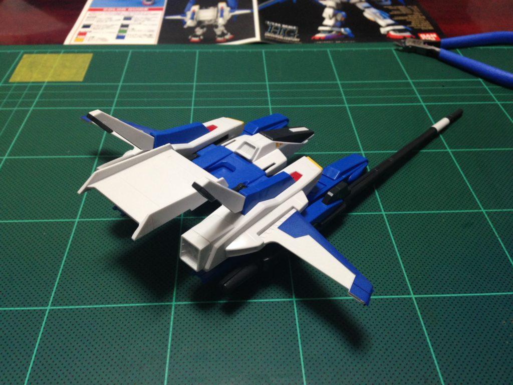 HGUC 1/144 FXA-05D+RX-178 スーパーガンダム 背面